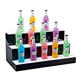 LSGMC 3 Tier LED beleuchteter Alkohol-Flasche Display Beleuchtetes...