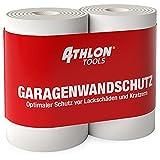 ATHLON TOOLS 2X FlexProtect Garagen-Wandschutz - je 2 m lang - Extra...