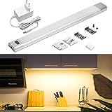 WOBANE LED Unterbauleuchte Küche,Dimmbare LED Schrankbeleuchtung mit...