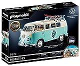 PLAYMOBIL 70826 Volkswagen T1 Camping Bus als hellblauer Surfer-Van,...