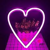 LED Neon Nachtlicht Batteriebetrieben, Wandleuchte Neon Dekoration...