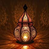 Gadgy ® Orientalische Lampe (36 cm) l Für Kerzen und elektrische...