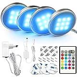 BASON LED Schrankbeleuchtung, Vitrinenbeleuchtun mit Fernbedienung, 20...