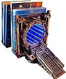 Galaxy Gate Buchstütze, Zwei-Wege-Galaxy Gate, Led-Beleuchtung Portal...