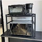 CM67 Mikrowelle Regale erweiterbar Küchenregal Mikrowellenhalter,...