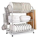 N/Z Home Equipment Dish Drainer Rack 3 Edelstahlregal Küchenregale...