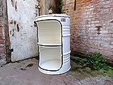 Fassmöbel Fass Design Regal Ölfass Möbel 210 Liter Volumen Farbe...