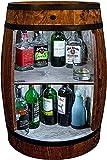 weeco Bar Schränk LED. Weinregal Weinschrank XL. Fass Vintage deko...