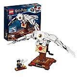 LEGO 75979 Harry Potter Hedwig mit beweglichen Flügeln, Schaustück,...