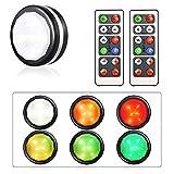 LIGHTESS 6er Set LED Schrankbeleuchtung Batterie Schrankleuchte mit...