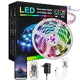 LED Strip Bluetooth, IIYL 6m RGB LED Streifen Farbwechsel LED Stripes...