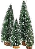 Mini Weihnachts Baum, 4 stück Miniatur Künstlicher Weihnachtsbaum,...