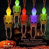 Halloween-Totenköpfe LED-Lichterkette,Halloween Lichterkette,...