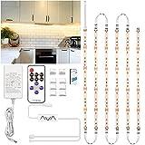 LED Strip Warmweiss 3m, Enteenly Unterbauleuchte Lichtleiste Küche...
