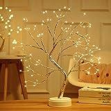 LED Bonsai Baum Lichter, Zhangpu 108 LED Lichterbaum Tisch Bonsai Baum...