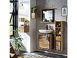 Woodkings® Badset Jolo, 6-teilig, Waschbeckenunterschrank mit...