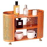 household products Kosmetik-Organizer-Rack, Orangefarbenes Badezimmer...