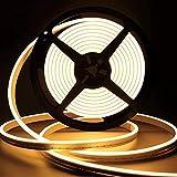 Lamomo LED Strip Warmweiss, 12V Dimmbar Neon LED Streifen, 5M...