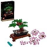 LEGO 10281 Bonsai Baum, DIY Set für Erwachsene, Zimmer-Deko, Botanik...