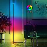 imodomio Stehlampe Wohnzimmer Dimmbar LED - Ecklampe Led RGB Rainbow...