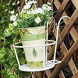 YUEXIN Blumentopfhalter für den Balkon,Pflanzgefäße zum Aufhängen,...