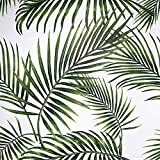 MEIBAN Selbstklebende Möbelfolie Muster Grün Weide Blätter...